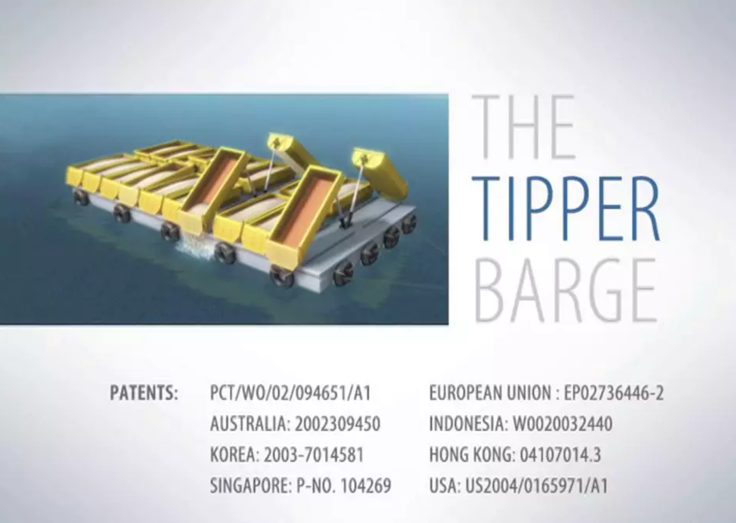 Tipper Barge