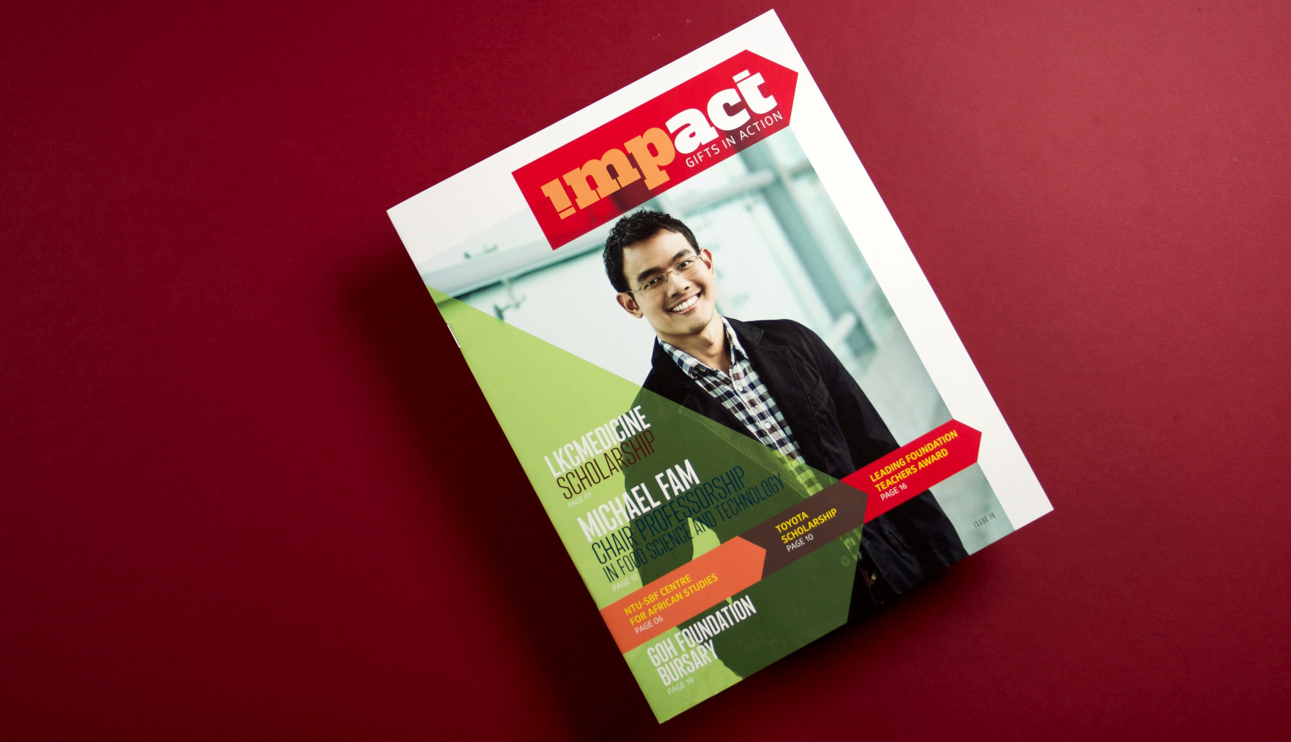 NTU Impact Front Cover