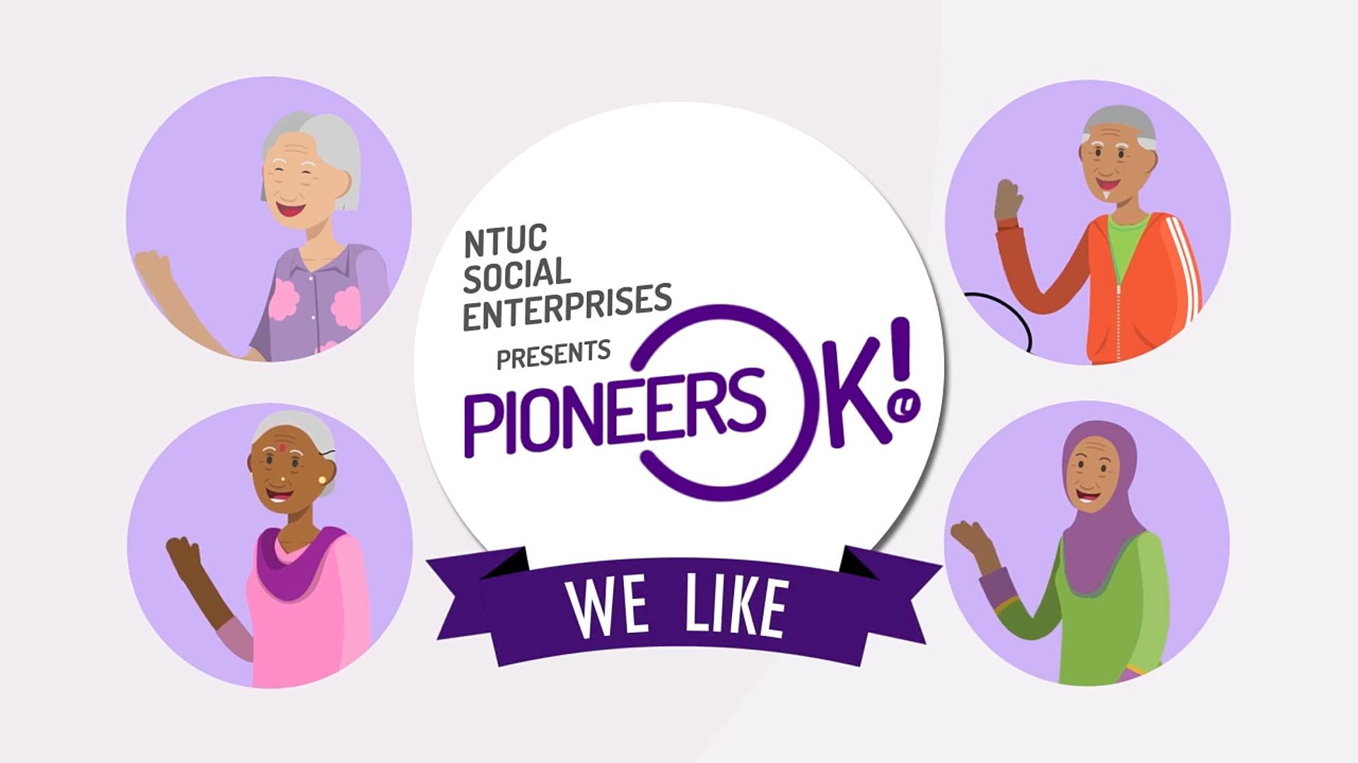 'PioneersOK!' Explainer Animation